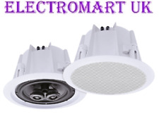 "CEILING SPEAKER SPEAKERS 5.25"" 80W WATER RESISTANT"