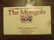 National Geographic Map The Mongols Mongol Khans & Their Legacy December 1996