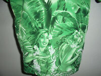 vintage 90s FUHUA Hemd crazy pattern hawaii Freizeithemd gemustert 90`s M