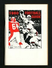 Pro & College Football--1980 Booklet Guide/Schedule