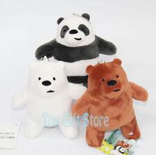 10pcs 13CM Grizzly Panda Ice Bear Plush Doll Stuffed Toy