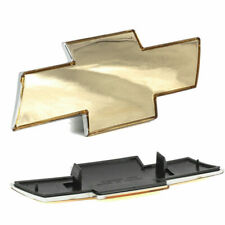 Front Grill Gold Grille Bowtie Emblem Fits 2000-01 Silverado 1500 2500 HD 3500-