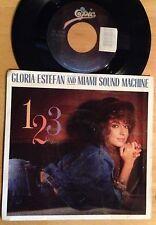 Gloria Estefan and Miami Sound Machine 45 1-2-3