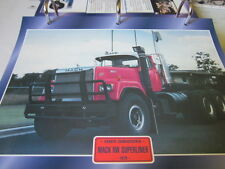 Super trucks sombreritos tractores estados unidos mack RW Superliner 1979
