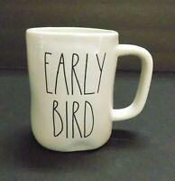 """BRAND NEW"" Rae Dunn ""EARLY BIRD"" Large Letter Mug By Magenta"