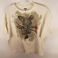 Alice In Chains Vintage T Shirt Off White Size XL
