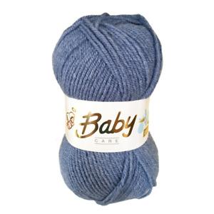 Baby Wool, Soft DK Double Knitting Yarn, Woolcraft Babycare 100g BUY 10+ SAVE 5%