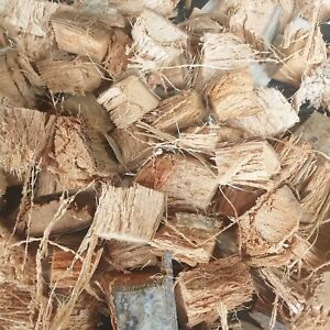 Coconut Husk Chips For Flowers Fruits & All 100% Natural Organic Growing Media