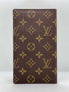 LOUIS VUITTON Monogram Porte Valeurs Long Bifold Wallet / J120-21254