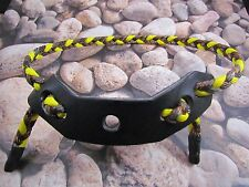 PARACORD BOW WRIST SLING YELLOW & LOST CAMO FITS CREED,,ELK HUNTING COMPOUND