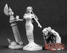 Reaper Miniatures 03150: Siobhana, Vampire Noble - Dark Heaven Legends Metal Min