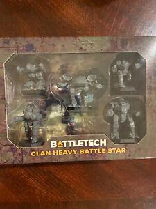 Battletech Clan Heavy Battle Star Catalyst Game Labs Kickstarter Clan Invasion