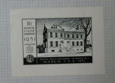 16th Annual Sojex 1951 Camden Nj Event Souvenir Ad