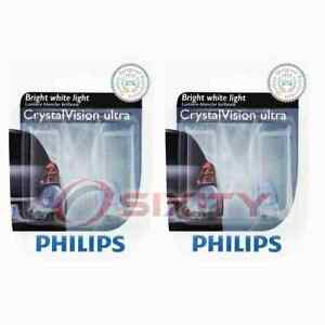 2 pc Philips Tail Light Bulbs for Mercury Grand Marquis Marquis Zephyr rh