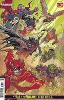 Justice League Comic 33 Cover B Variant Jonboy Meyers DCeased Cardstock 2019 DC