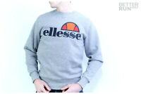 Ellesse Heritage Sweatshirt - Succiso Crew Sweat - Grey Marl