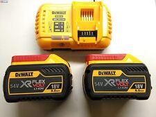 Pack DeWalt Dcb118x2 (cargador y 2 Baterías 9 0ah/54v)