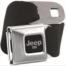 Genuine JEEP Logo Seatbelt Seat Belt with Buckle Buckle-Down Wrangler Limited
