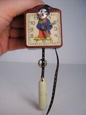 Antike Kinder Puppenstuben Zappler Uhr Bakelit