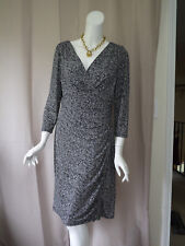 Lauren Ralph Lauren Women Print Dress size 12/L Excellent