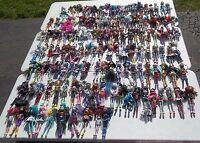 Lot Of 135 Monster High Dolls & Accessories Boys Girls Deuce Claude Jackson Gil