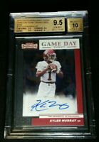 BGS 9.5/10 POP 4 KYLER MURRAY RC AUTO /25 SSP ROOKIE FOIL 2019 Panini Contenders