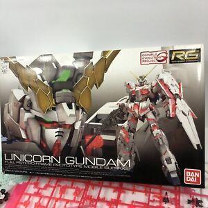 Bandai Unicorn Gundam Full Psycho Frame Prototype Suit RX-O PARTIAL Model Kit