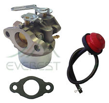 Tecumseh 640084B HSK40 HSK50 HS50 LH195SP Snowblower Carburetor With Primer Bulb