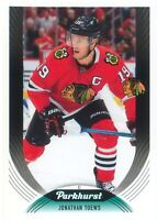 Jonathan Toews 2020-21 UD Parkhurst Hockey Base Card #270 Chicago Blackhawks SP