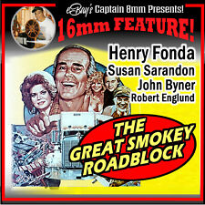 THE GREAT SMOKEY ROADBLOCK (1976) Henry Fonda 16mm Feature