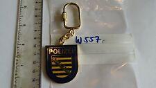 Polizei Schlüsselanhänger Bayern auf blau 1 Stück (w557)