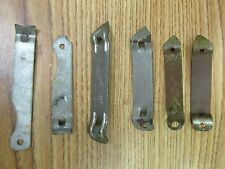 Misc Vintage Bottle openers Paint Can Openers