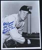 Bob Friend Pittsburgh Pirates Baseball Autographed Signed 8x10 B&W Photo JSA
