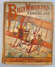 Billy Whiskers In An Aeroplane Antique Childrens Book 1912 F Montgomery O AS IS