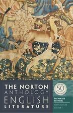 The Norton Anthology English Literature 9th Edition Volume 2