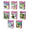 37018-8 Bausteine Figur Mädchen Serie 8PCS Prinzessin Kinder Spielzeug Modell