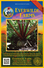 500 Sugar Beet Seeds - Everwilde Farms Mylar Seed Packet