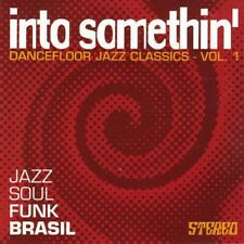 INTO SOMETHIN = Zulema/Heron/Bosco/Marques/Shepp...=CD= DANCEFLOOR JAZZ FUNK