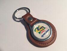 Ayrton Senna Genuine Leather Key ring