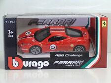 Bburago 36100 FERRARI 458 Challenge - METAL 1:43 Race&Play