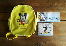 Disney MICKEY MOUSE Child Toddler Bag Back Pack Cathay Pacific & Activity Book