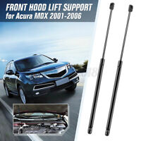 Pair Front Bonnet Hood Lift Support Gas Struts 8196025 For Acura MDX 2001-2006