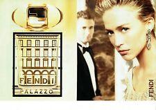 Publicité Advertising 059  2007  parfum Fendi Palazzo  (2 pages)