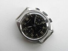 Extra Rare Edition Gallet Commander 45M Chronograph WWII 1940`s Military SSteel