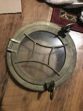 Original Vintage Antique Nautical Ship Bronze Porthole Boat Maritime Antique