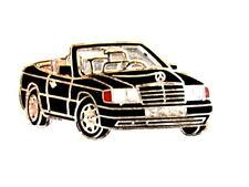 Auto pin/Pins-Mercedes Benz SL convertible esmaltadas, negro (1322)