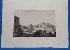 274 ZUCCAGNI ORLANDINI 1845 VEDUTA DI TARANTO (OTRANTO)  cvMP17/11/17