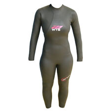 NEW - WTS Triathlon Wetsuit Women - 5mm - Long Sleeve - Tapered Buoyancy Panels