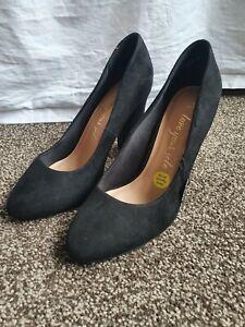 New Look Extra Wide Fit Black Block Heel Shoes UK 7  - EU 40 -  RRP £19.99