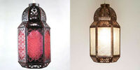 Shabby Chic Moroccan Lantern Light Shades  pendant  Bedroom Living room  NEW